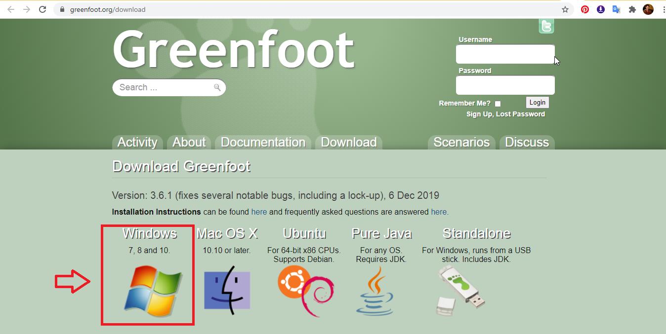 Download Greenfoot